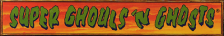 Super Ghouls'n Ghosts logo