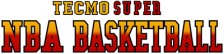 Tecmo Super NBA Basketball logo