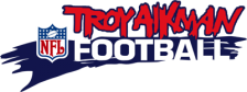 Troy Aikman NFL Football logo