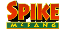 Twisted Tales of Spike McFang, The logo