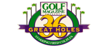 Golf Magazine 36 Great Holes Starring Fred Couples logo