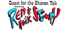 Quest for the Shaven Yak Starring Ren Hoek & Stimpy logo