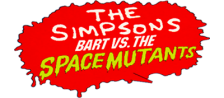 Simpsons, The - Bart vs. The Space Mutants logo