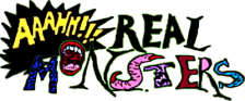 AAAHH!!! Real Monsters logo