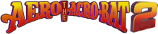 Aero the Acro-Bat 2 logo