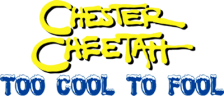 Chester Cheetah - Too Cool to Fool logo