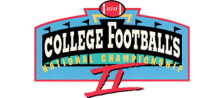 College Football's National Championship II logo
