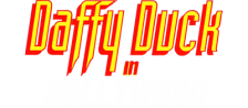 Daffy Duck in Hollywood logo