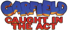 Garfield - Caught in the Act logo
