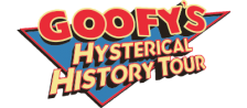 Goofy's Hysterical History Tour logo