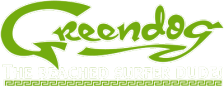 Greendog - The Beached Surfer Dude! logo
