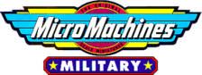 Micro Machines Military logo