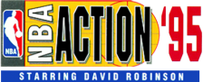 NBA Action '95 Starring David Robinson logo