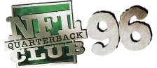 NFL Quarterback Club 96 logo