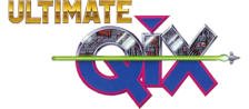 Ultimate Qix logo