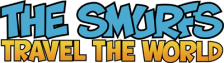 Smurfs Travel the World, The logo