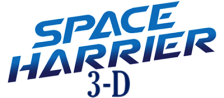 Space Harrier 3-D logo