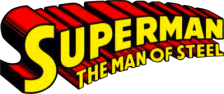Superman - The Man of Steel logo