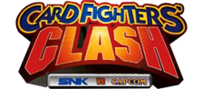 SNK vs. Capcom - Card Fighters' Clash - SNK Version logo