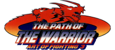 Art of Fighting 3 - The Path of Warrior logo