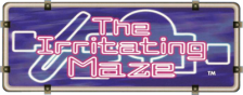 Irritating Maze, The logo