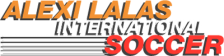 Alexi Lalas International Soccer logo