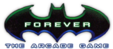 Batman Forever - The Arcade Game logo