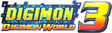 Digimon World 3 logo