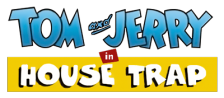 Tom and Jerry in House Trap logo