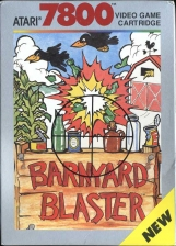 Barnyard Blaster Atari 7800 cover artwork