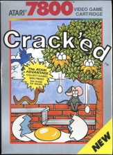 Crack'ed Atari 7800 cover artwork
