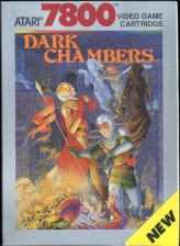 Dark Chambers Atari 7800 cover artwork
