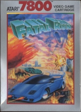 Fatal Run Atari 7800 cover artwork
