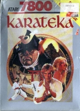 Karateka Atari 7800 cover artwork