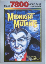 Midnight Mutants Atari 7800 cover artwork