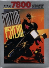 Motor Psycho Atari 7800 cover artwork