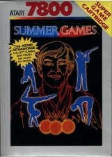 Summer Games Atari 7800 cover artwork