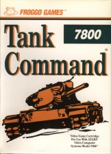 Tank Command Atari 7800 cover artwork
