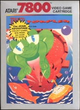 Tower Toppler Atari 7800 cover artwork