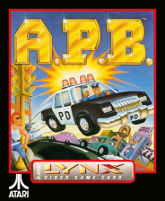 APB - All Points Bulletin Atari Lynx cover artwork