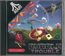 Bubble Trouble Atari Lynx cover artwork