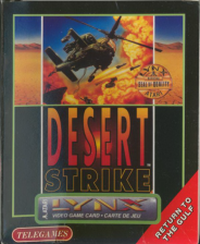 Desert Strike - Return to the Gulf Atari Lynx cover artwork