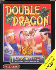 Double Dragon Atari Lynx cover artwork