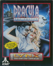 Dracula - The Undead Atari Lynx cover artwork