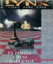 Fidelity Ultimate Chess Challenge Atari Lynx cover artwork