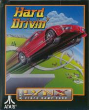 Hard Drivin' Atari Lynx cover artwork