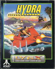 Hydra Atari Lynx cover artwork