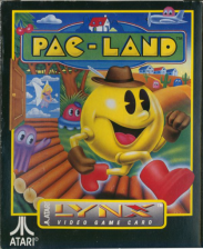 Pac-Land Atari Lynx cover artwork