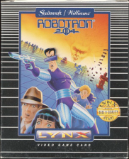 Robotron 2084 Atari Lynx cover artwork
