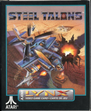 Steel Talons Atari Lynx cover artwork